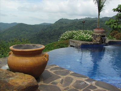 Photo for Villa Mountain Serenity, Lovely Panoramic Valley & Ocean View!