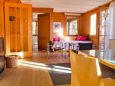 Photo for Vacation home Jungfrau an der Ledi in Wengen - 5 persons, 2 bedrooms