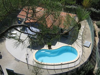 Photo for SOULAC Sur Mer Médoc CHALET 8 BEDS.  Private pool and Spa