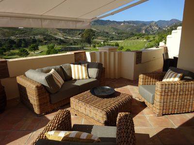 Photo for Capanes Del Golf      Frontline golf     3 bedroom 3.5 bath.    Grand Apartment