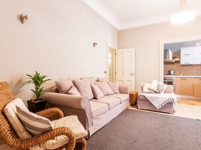 Photo for Central and luxury apartment in Sorrento old town with WIFI,A/C,SAT-TV, washer, terrace.