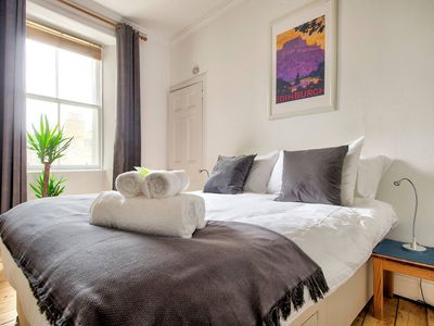 Photo for Victorian Apartment in Lively Marchmont