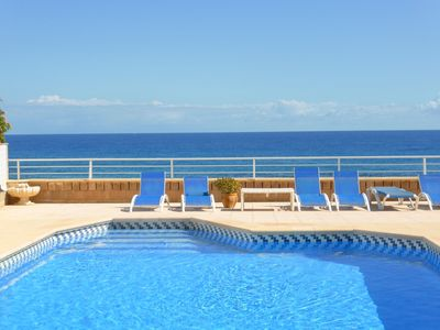 Photo for Magical Location !! Front Line Beach Villa in Cabo Roig  Private Pool