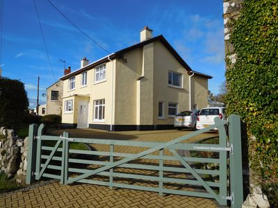 Photo for A comfortable spacious 5 bedroom 3.5 bathroom detached house with sea views.