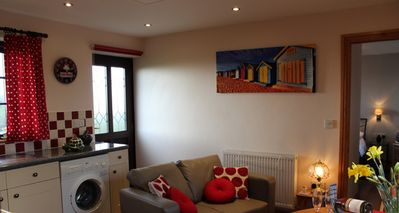 Photo for Cosy apartment in West Cornwall with fantastic countryside views.