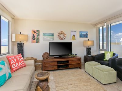 Photo for 14th Floor Penthouse On Hawaii's Gold Coast At The Diamond Head Beach Hotel