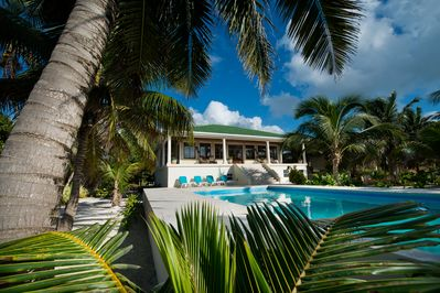 Front South View - Anil Mar at Mexico Rocks, Ambergris Caye, Belize