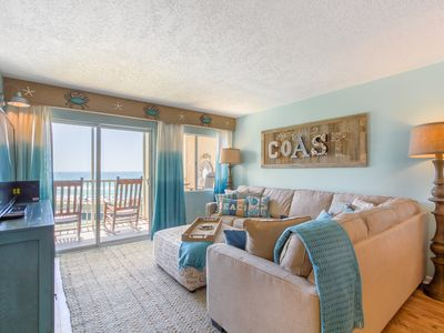 Photo for Coastal Heaven Retreat - Upscale Beachfront, Truly Beautiful! (407)