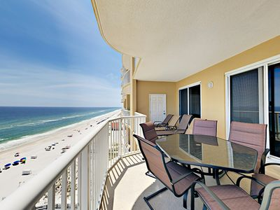 Photo for Beachfront 3BR w/ Gorgeous Gulf Views & Large Private Balcony