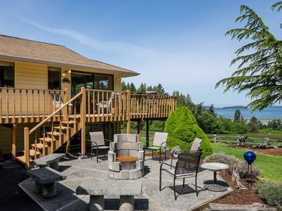Photo for Spacious view home that captures the serenity and beauty the of Puget Sound