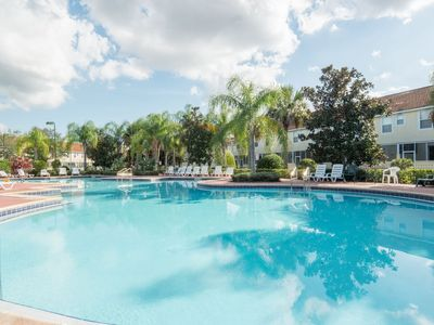 Photo for Elegant 2 Story townhome ,gated community w/ resort amenities, 9 miles to Disney