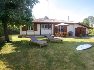 Photo for Messanges lovely Landes renovated between ocean and pine forest