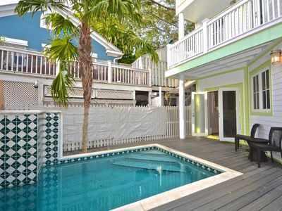 Photo for Stylish, inviting home w/private pool in heart of downtown - walk to everything!