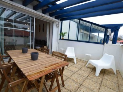 Photo for HOSSEGOR CENTER APARTMENT TYPE 3 with terrace.