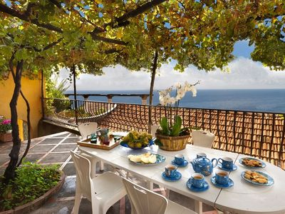 Photo for CHARMING VILLA in Positano with Wifi. **Up to $-1621 USD off - limited time** We respond 24/7
