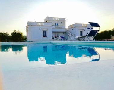 Photo for White Villa with swimming pool