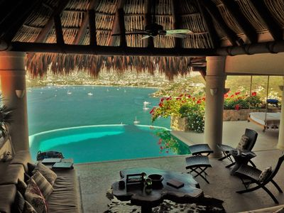 Photo for Heighest  View from a House  Of Zihuatanejo Bay, La Ropa Beach & Pacific Ocean