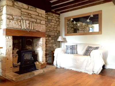 Photo for Cosy cottage in the beautiful market town of Northleach