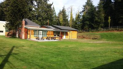 Private, spacious, big yard with patio, trailer parking & 2min to Dunes or town