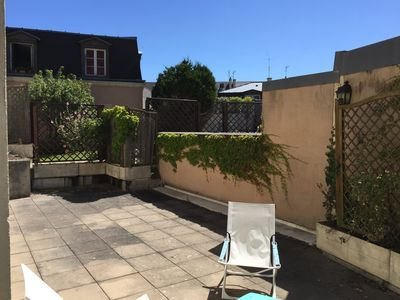 Photo for Two rooms with terrace in the heart of town (roof top)