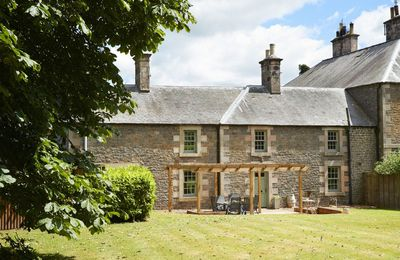 Photo for Courtyard House is a restored wing of a large Victorian Farmhouse and sleeps six within a rural loca