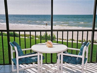 Photo for Direct Beach Front -20 Ft to Beach- Sundial Resort Largest 1 Bedroom