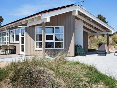 Photo for Cozy Holiday Home in Vejers Strand   with Whirlpool