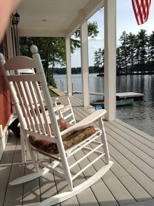 Photo for Lakehouse in No-Wake Cove, Sandy Beach, Spectacular Views