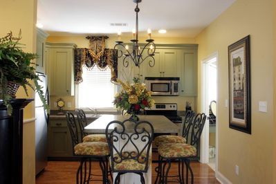 bright and sunny carriage house