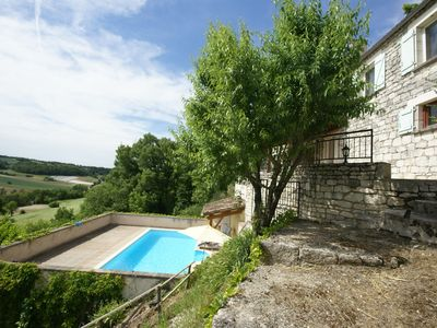 Photo for Atmospheric holiday home with private swimming pool and covered terrace