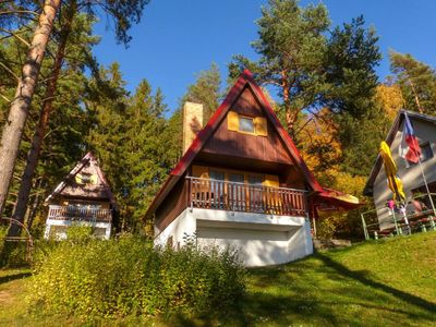 Photo for Cottage with a view of Lipno lake