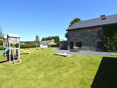 A holiday home in the heart of the Ardennes.