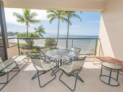 Photo for SK 316 - Breathtaking Ocean Front Family Vacation - Sands Of Kahana