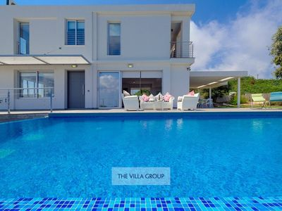 Photo for Protaras Villa, Sleeps 8 with Pool, Air Con and WiFi