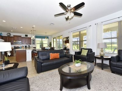 Photo for Luxury on a budget - Hamlets at West Haven - Welcome To Contemporary 7 Beds 6 Baths Villa - 8 Miles To Disney