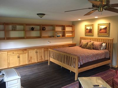 Photo for Comfortable Studio Apartment in charming Black Mountain 20 minute from Asheville