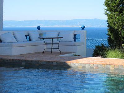 Photo for Villa with pool and stunning views of the Tanger heights