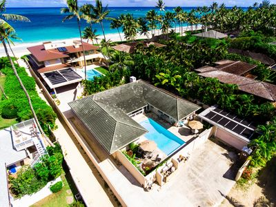 Photo for Wow!   Home just steps from the Beach with Pool