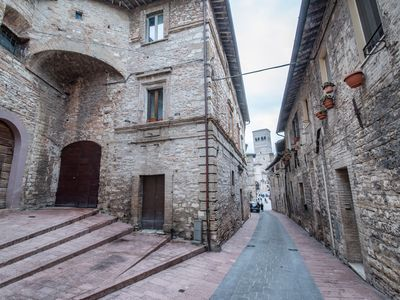 Photo for APARTMENT SANT'APOLLINARE IN THE HISTORICAL CENTER OF ASSISI WITH PARKING