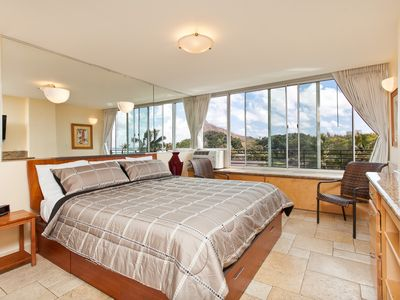 Photo for Great Price for King Bed Suite with Kitchenette plus Ocean and Park Views