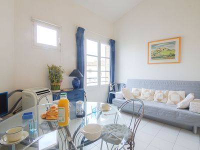 Photo for One bedroom Apartment, sleeps 4 in Saint-Tropez with Air Con and WiFi