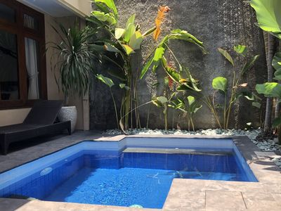 Photo for KUTA Private Villa Santai with plunge pool, 4 bedrooms 3 Bathrooms.