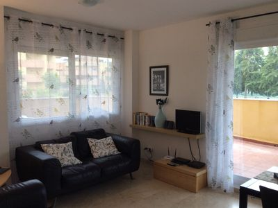 Photo for Ground-floor Apartment In Quiet Location Just 25 Mins From Malaga Airport