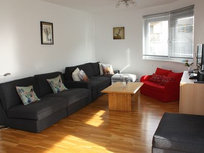 Photo for Modern, spacious apartment - 250m from town centre, 300m from ski lifts