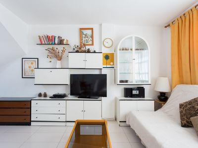 Photo for Lovely 2 bedrooms apartment with solarium in Playa de Las Americas