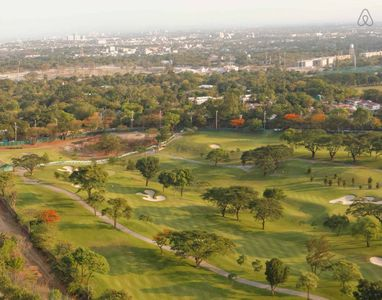 Golf course view from unit