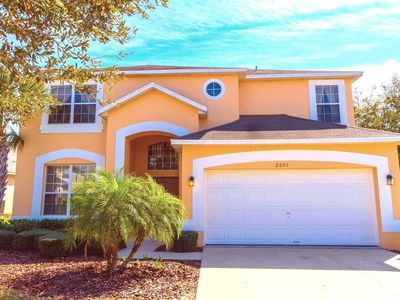 Photo for New 7BR/Pool/Hot Tub/WiFi/Game RM, 4 Miles To Disney, Great Location