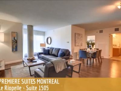 Photo for Le Riopelle Executive Suite - Suite 1505