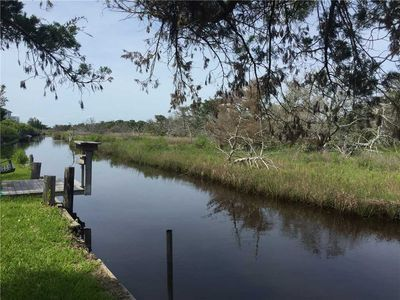 Shallow Water Canal Leading to Pamlico Sound
