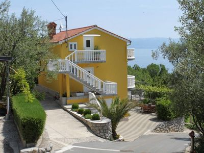 Photo for Apartment in Medveja (Opatija), capacity 2+2